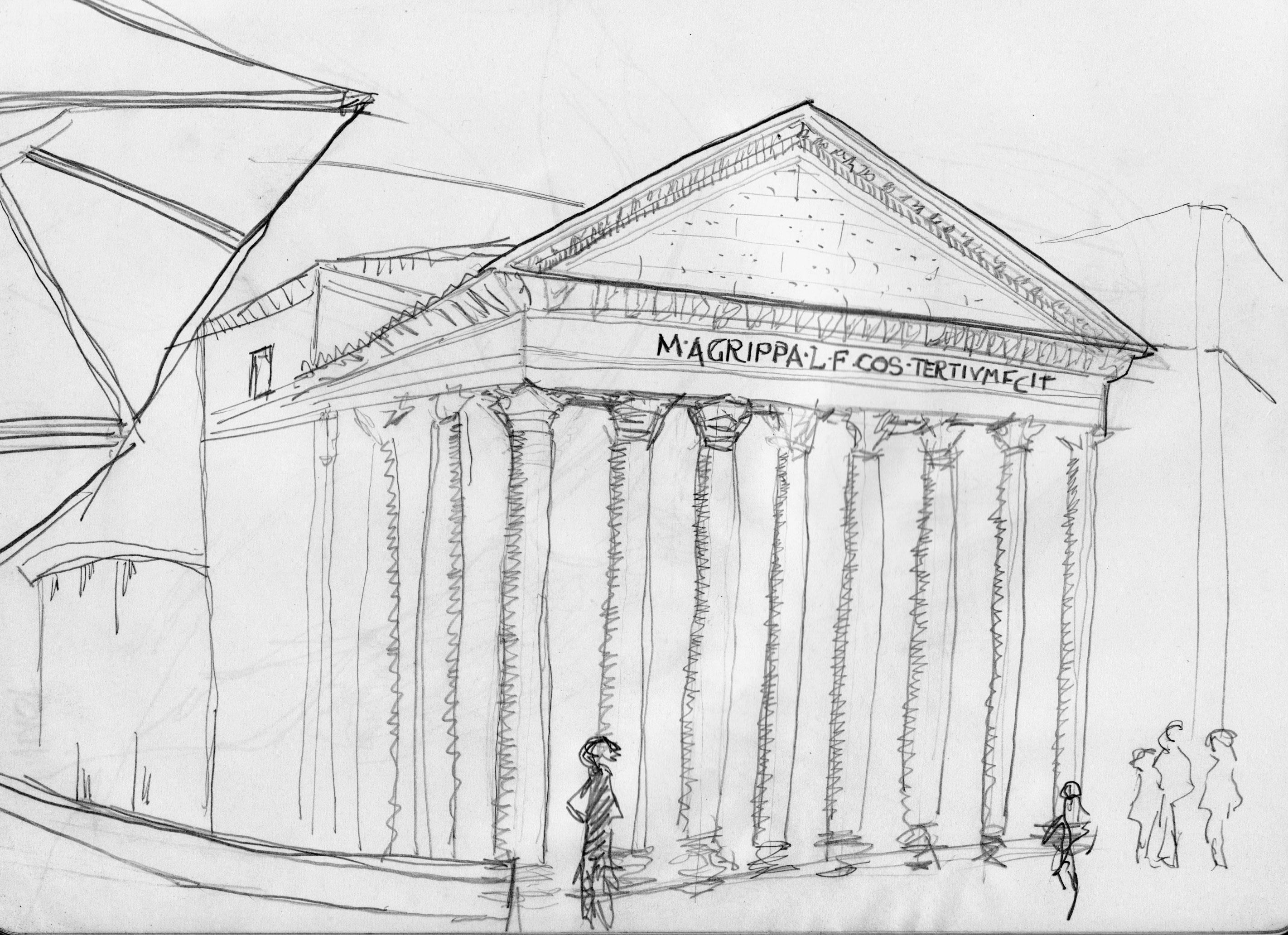 Dibujos De Roma E Italia