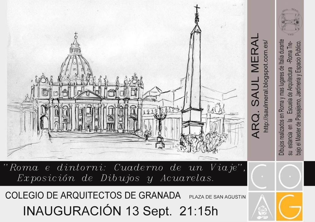 Cartel de la Exposicion en COA Granada