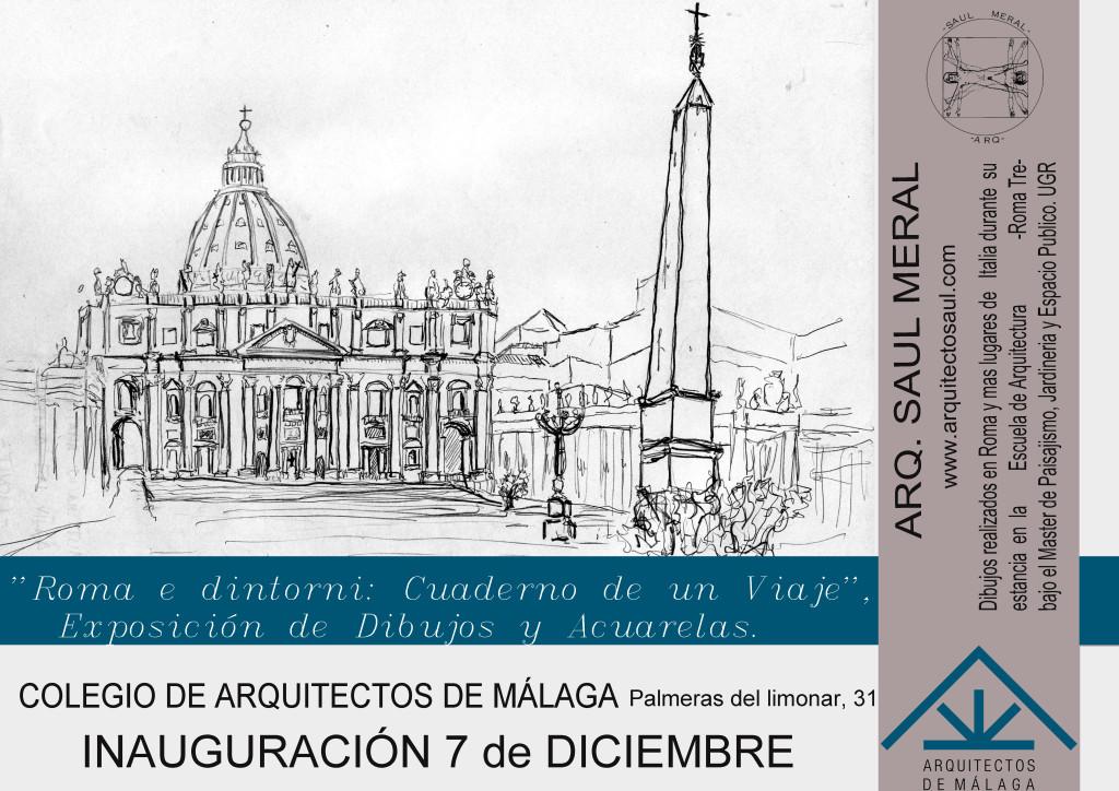 Cartel de la ExposicionMalagaA3