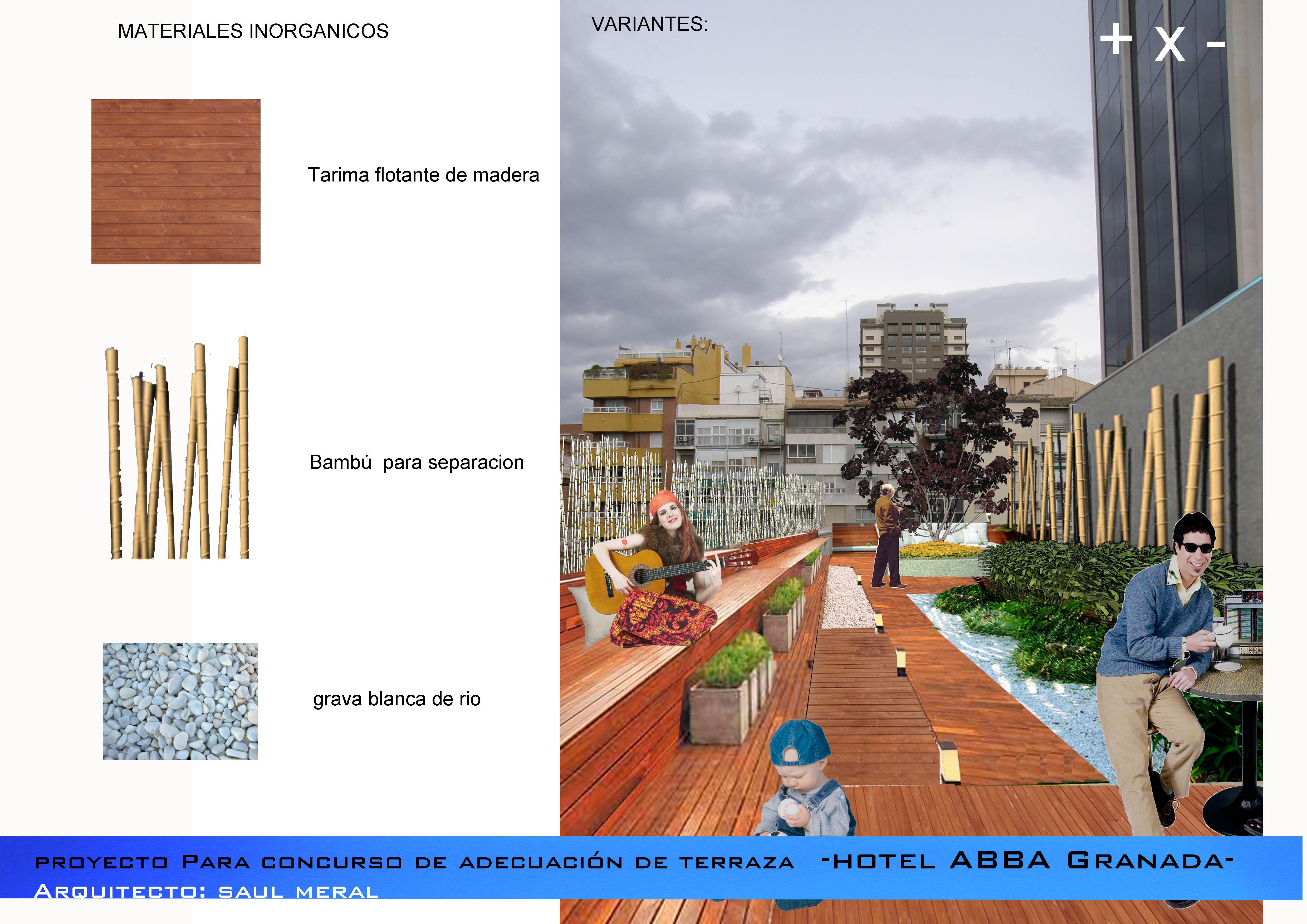 Terraza Hotel ABBA granada 3