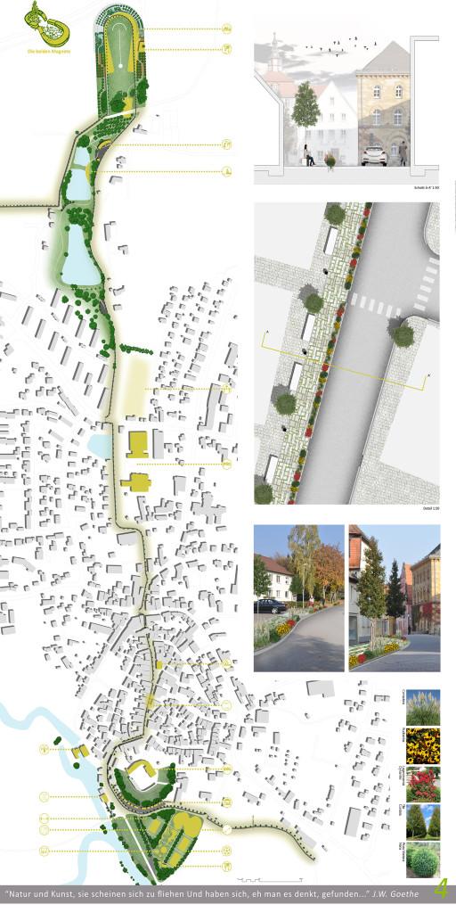 planta urbana intervencion en calle principal